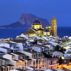 Altea, just so beatiful! (altea, Alicante,Spain)