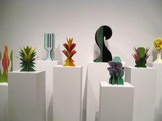 Giacomo Balla, Futurist Flowers, Hirshhorn Museum, image via artobserver