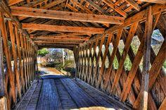 Horace King Covered Bridge in Langdale, Alabama