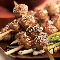 ... Kabobs on Pinterest | Japanese Chicken, Skewers and Japanese Food