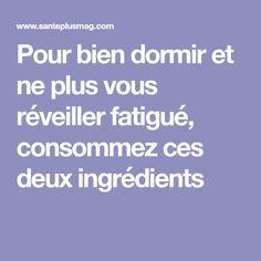Fatigue, Plus Jamais, Psychology, Food And Drink, Beignets, Gaia, Detox, Boutique, Flat Belly Diet