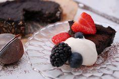 kikärtsspad | Ylvas Bakverkstad Panna Cotta, Sweet Treats, Cheesecake, Vegan, Chocolate, Ethnic Recipes, Desserts, Food, Cheesecake Cake