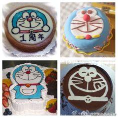 More Doraemon cakes!