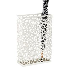 White Nest Umbrella Stand $49.00. I want something like this for my gift wrap tubes... but a LOT cheaper :)
