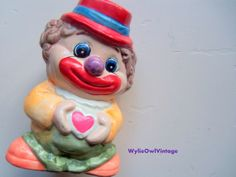 Clowns, Clowns and More Clowns by Brigitte Dimock and Melisa Boyle on Etsy