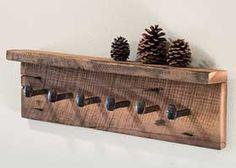 Railroad Spikes Art - Railroad Spike Bottle Opener,Hooks Craft