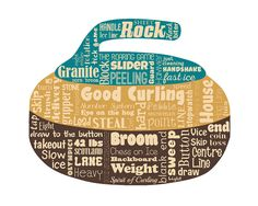 Original artwork using words to describe CURLING -- Dress up a room in your home with this sports-themed print that details the many words for the popular Olympic sport of Curling. ◿▼┃▼◺ ◿▼┃▼◺ ◿▼┃▼◺ ◿▼┃▼◺ ◿▼┃▼◺ ◿▼┃▼◺ ◿▼┃▼◺ Want to customize this print with a few words that are special to you? For an additional $5.00 you can substitute up to 15 words (of similar character length) within this city design. Click on the desired size with Word Change and then include in the message which words… Olympic Sports, Words To Describe, Golf Fashion, Winter Olympics, Winter Fun, Ladies Golf, Word Art, Original Artwork, Curls