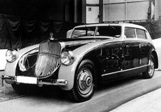 Maybach Zeppelin DS8 Stromlinien by Spohn 1932–35