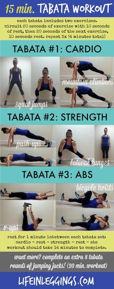 Cardio, Then Quick Circuit Workouts (via Bloglovin.com )