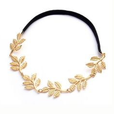 Help your group step out away from the Bachelorette norm with these great gold headbands for all the girls