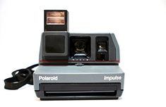 Polaroid Impulse 600 The Impulse camera is non-folding 600 camera that is similar to the non-folding cameras. I am not sure when these cameras were first produced, but I have a strong feeling… Film Photography Project, Photography Supplies, Photography Store, School Photography, Photography Classes, Photography For Beginners, Photography Camera, Polaroid Instant Camera, Instant Film Camera