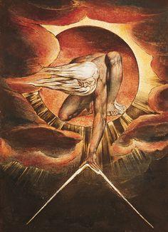 Romanticism William Blake - The ancient of days