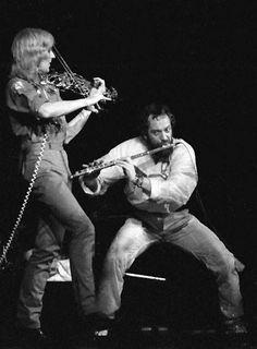 Eddie Jobson + Ian anderson