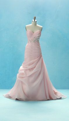 Alfred Angelo Sleeping Beauty inspired dress. YES TO IT ALL!!!!! Pink, pink, pink!