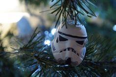 Star wars Christmas tree ornament / stormtrooper diy / adorno para árbol de Navidad