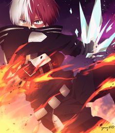 Hot Anime Boy, Anime Boys, Powerful Pokemon, My Hero Academia Shouto, Reasons To Live, Hero Wallpaper, Anime Ships, Chibi, Me Me Me Anime