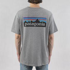 f1f0ada7f Patagonia P6 Logo T-shirt - Gravel Grey at Urban Industry Patagonia Logo,  Latest