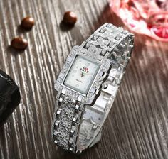 New Women's Luxury Band Stainless Steel Military Analog Quartz Lady Wrist Watch Stylish Watches, Luxury Watches, Cool Watches, Watches For Men, Women's Watches, Popular Watches, Swiss Army Watches, Jewelry Gifts, Unique Jewelry