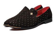 Pinned Men Leather Shoes – FanFreakz
