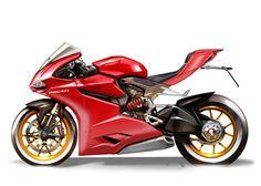 1199 Panigale Design Drawings - Ducati