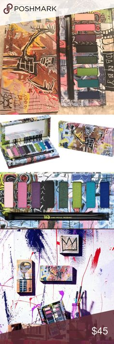 """🌟🌟UD- Jean-Michel BASQUIAT """"Tenant"""" Eye Palette! Brand New and Authentic!! 💯💯 I am seriously loving these palettes by Jean-Michel BASQUIAT!! ❤❤ They are extremely buttery and PIGMENTED!! Also the colors are Fabulous!! 🙌🙌 LIMITED EDITITION!! Gifts with Purchase! 😘😘 Bundle and SAVE!! Urban Decay Makeup Eyeshadow"""