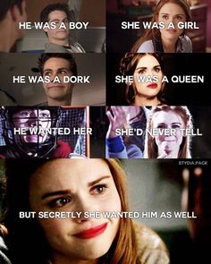 Teen wolf! Stydia - I do wish these 2 would get together...but I'm rooting for Lydia & Parrish <3
