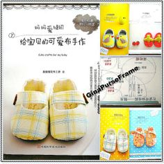 Tutorial Book (Handmade Gifts for Baby - 40types) Baby Crafts making (Shoes Hats Clothes)