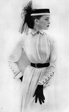 Fashion from Vogue, June 1951 Tumblr