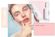 Glossier is a beauty brand inspired by real life. Everything we do is distilled into our essential, easy-to-use skincare and makeup products. Beauty Ad, Beauty Shots, Clean Beauty, Beauty Makeup, Beauty Products, Makeup Kit, Glossier Branding, Glossier Packaging, Geometry