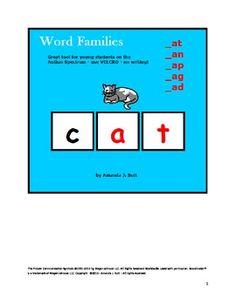 App --Word Families an, at, ap, ag, ad -