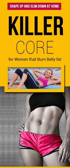 Core workouts for women that burn belly fat : #fitness #core #exercise #fat_burning #belly_fat  #weight_loss #ab_workouts #lose_weight #fit #strong #workouts #fat_loss