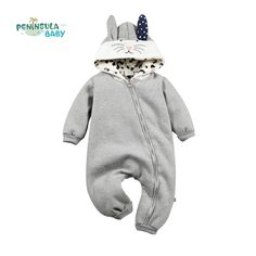 5896f9320b28 Baby winter outerwear retail baby clip cotton thick padded jacket ...