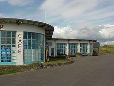 Cafe, Cricceth, Wales designed by Sir Clough Williams-Ellis.
