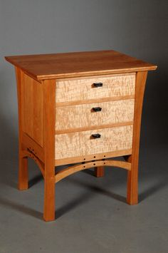 Signature Mastery nightstand by Sue Willette.