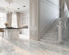 Enhance Your Senses With Luxury Home Decor in 2020 Luxury Homes Interior, Luxury Home Decor, Interior Design Living Room, Floor Design, House Design, Modern Classic Interior, Luxury Flooring, Hallway Designs, Staircase Design