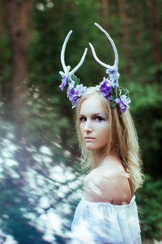 Deer forest goddess by Elvira Zakharova on 500px
