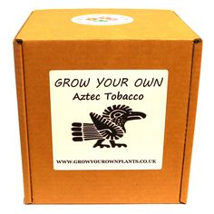 Grow Your Own Aztec Tobacco Plant Kit - Planting kit for children and adults Easy Plants To Grow, Garden Gifts, Grow Your Own, Planting, Aztec, Fathers Day, Kit, Children, Birthday