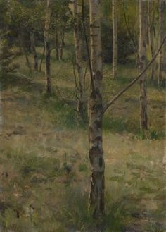 Julius Mařák, Březina, 1879 Barbizon School, Landscape Paintings, Oil Paintings, National Theatre, Prague, Fine Art, Collections, Art, Oil On Canvas