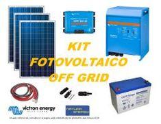 Kit Energía Solar Off Grid Full Victron Off Grid, Kit, Solar Panels, Nature, Off The Grid