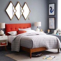Mid-Century Modern Bedroom-13-1 Kindesign