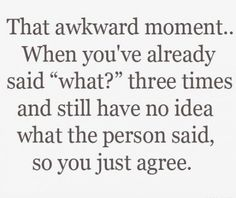 That awkward moment.. funny-things