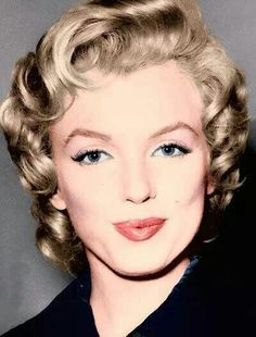 Marilyn Monroe in Colour ~ Come and check me out on facebook.