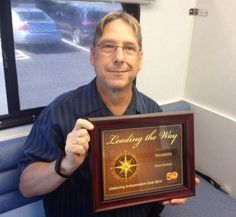 Congratulations to Teradata - 2014 Silver partner with CBC in the LifeSaving Ambassadors Club! Blood donor Ray Brothers accepted the award at the Thursday, July 30 blood drive which had 27 donors & 22 donations for 105% of goal!.