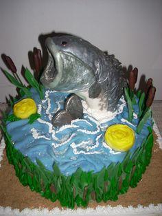 Fisherman's #grooms #cake
