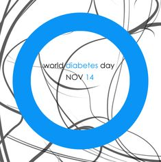 Put on your Blue. Learn about diabetes, help support those who are affected by it...
