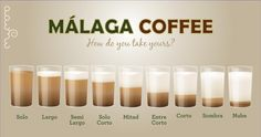 A cafe con leche in Málaga is not just a cafe con leche... Owww the memories! <3