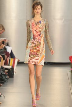 This would be good for me, minus the renfest chain mail sleeves. Mary Katrantzou