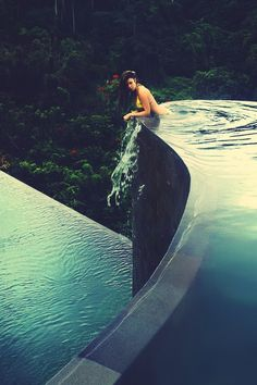 Submission #4 Inspiration: the pool in the middle of forrest, brings human closer to nature. Source: http://theultralinx.com/2014/02/random-inspiration-120-architecture-cars-girls-style-gear.html