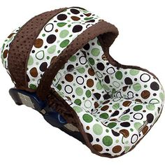 Baby Jack Infant Car Seat Cover. This website has hundreds of styles for boys and girls!