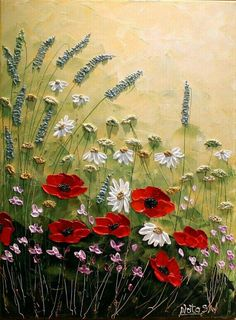The best DIY projects & DIY ideas and tutorials: sewing, paper craft, DIY. Beauty Tip / DIY Face Masks 2017 / 2018 Original Modern Flower Painting. Ready to Hang. Texture Painting, Painting & Drawing, Art Moderne, Love Art, Painting Inspiration, Beautiful Paintings, Art Photography, Canvas Art, Acrylic Canvas